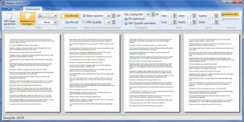 Screenshot Hexonic ScanToPDF